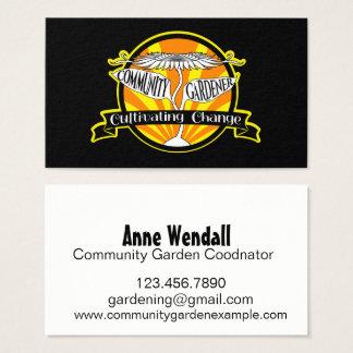 Cartão De Visitas Jardineiro da comunidade