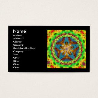 Cartão De Visitas Jenniflower #11