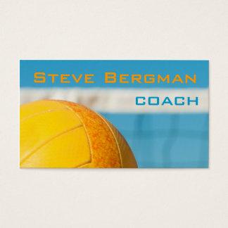 Cartão De Visitas Jogo de equipe do instrutor do jogador do