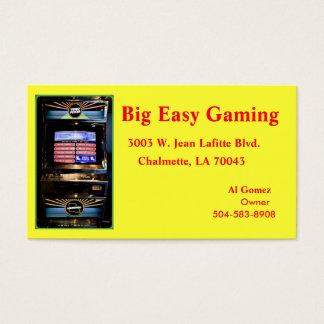 Cartão De Visitas Jogo fácil grande, 3003 W. Jean Lafitte Blv…