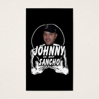 Cartão De Visitas Johnny o Sancho