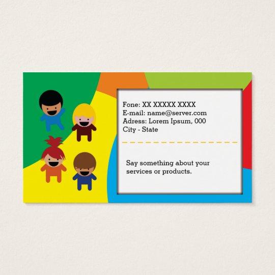 Cartão De Visitas Kids Card