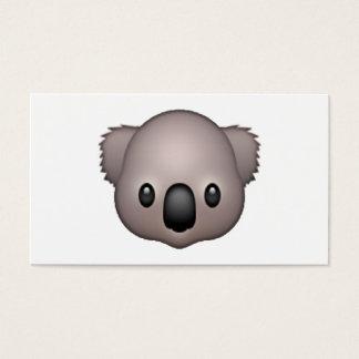 Cartão De Visitas Koala - Emoji