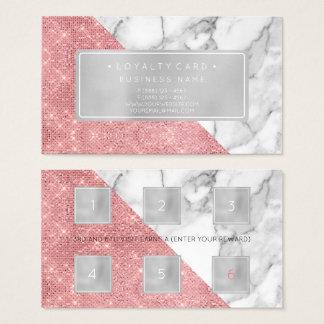Cartão De Visitas Lábios do salão de beleza do cliente do perfurador