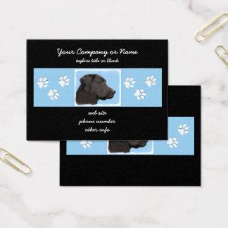 Cartão De Visitas Labrador retriever (preto)