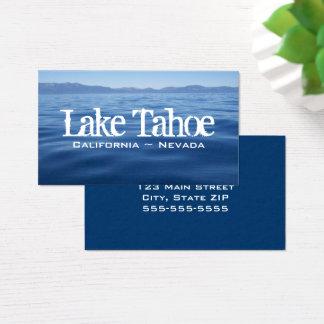 Cartão De Visitas Lake Tahoe