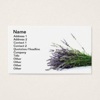 Cartão De Visitas Lavanda