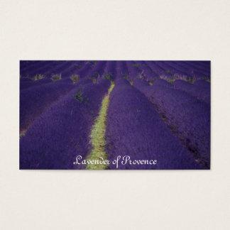 Cartão De Visitas Lavanda de Provence