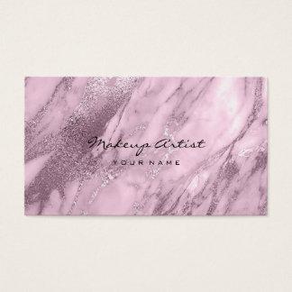 Cartão De Visitas Lavanda roxo Vip de mármore Vip mínimo abstrato