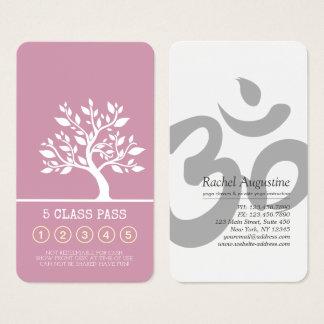 Cartão De Visitas Lealdade elegante da passagem da classe do