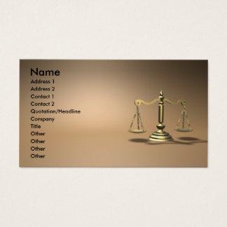 Cartão De Visitas Lei