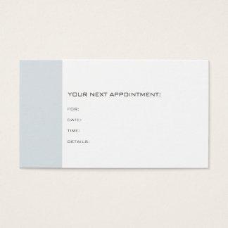 Cartão De Visitas Lembrete do doutor Dentista Terapeuta Chique