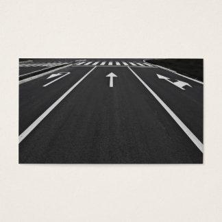 Cartão De Visitas linhas da rua