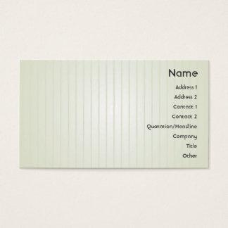 Cartão De Visitas Linhas Verdes - negócio
