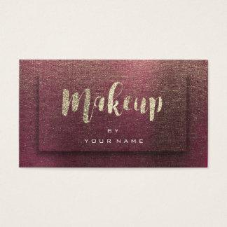 Cartão De Visitas Linho do efeito da composição 3D de Typograph do