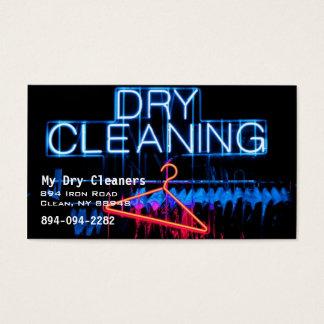 Cartão De Visitas Líquidos de limpeza secos ou lavanderia