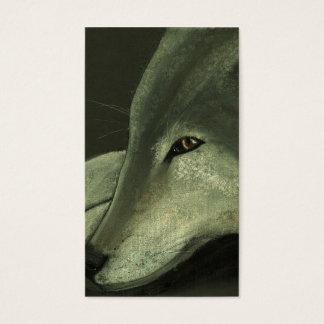 Cartão De Visitas lobo solitário