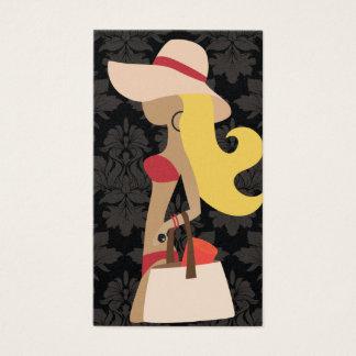 Cartão De Visitas Louro do Fashionista de 311 biquinis