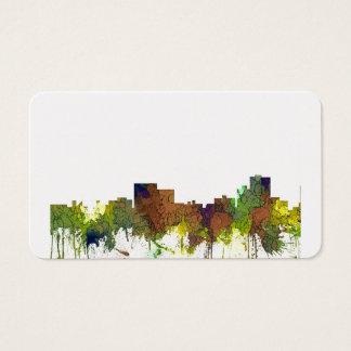 Cartão De Visitas Lustre do safari da skyline de Chatanooga
