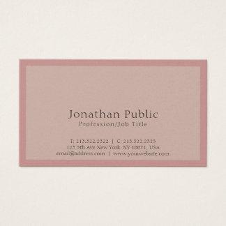 Cartão De Visitas Luxe elegante moderno profissional liso lustroso