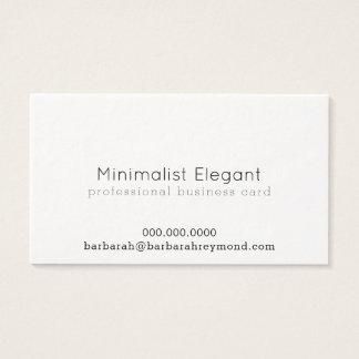 Cartão De Visitas luxe profissional minimalista elegante
