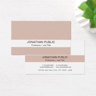 Cartão De Visitas Luxo de seda macio elegante profissional moderno