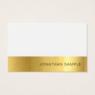 Cartão De Visitas Luxo de seda superior criativo profissional