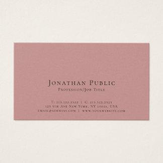Cartão De Visitas Luxo elegante moderno profissional liso lustroso