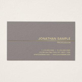 Cartão De Visitas Luxo liso moderno do design profissional do