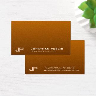 Cartão De Visitas Luxo moderno elegante da pérola do monograma