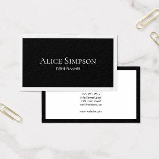Cartão De Visitas Luxo moderno minimalista
