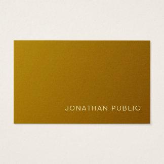 Cartão De Visitas Luxo moderno profissional do revestimento da