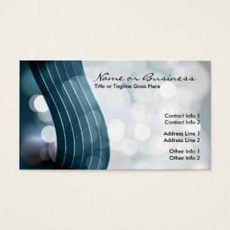 Cartão De Visitas luzes de piscamento com código de QR