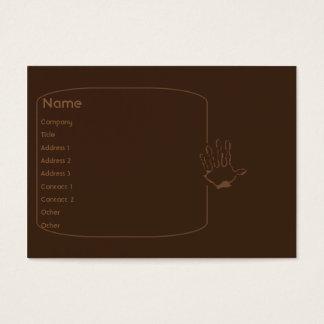 Cartão De Visitas Macaco - carnudo