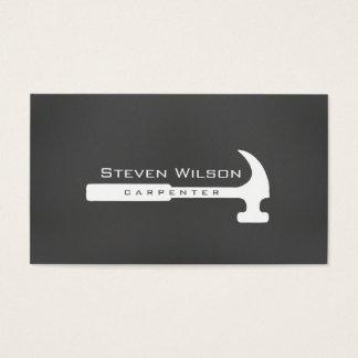 Cartão De Visitas Madeira profissional da ferramenta do Woodworker