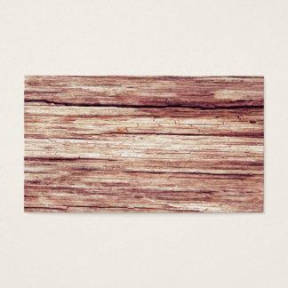 Cartão De Visitas madera