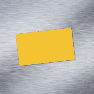 Cartão De Visitas Magnético Ambarino