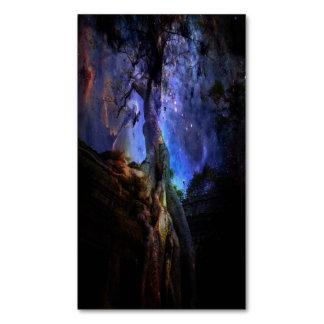 Cartão De Visitas Magnético Árvore de vida universal