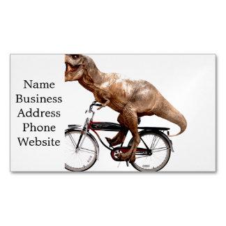Cartão De Visitas Magnético Bicicleta da equitação de Trex