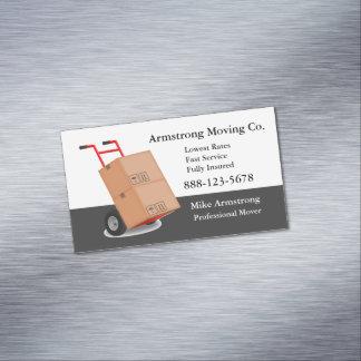 Cartão De Visitas Magnético Carro da zorra do motor da empresa de mudanças