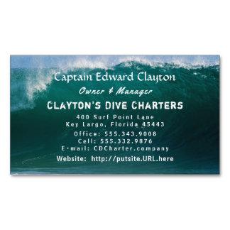 Cartão De Visitas Magnético Cartão de visita do capitão Carta patente Grande