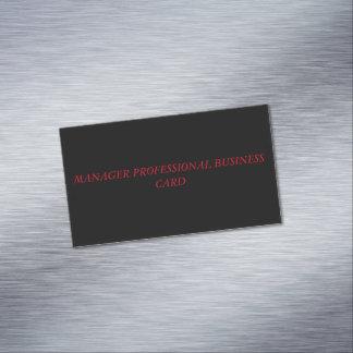 Cartão De Visitas Magnético cartão de visita magnético feito sob encomenda
