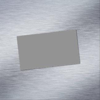 Cartão De Visitas Magnético Cinzas
