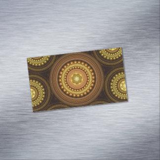 Cartão De Visitas Magnético Círculos do Fractal