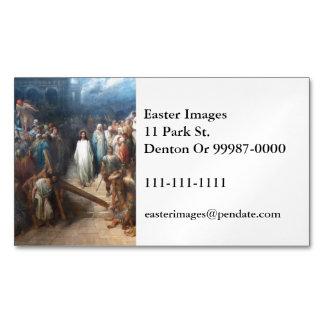 Cartão De Visitas Magnético Cristo que deixa Praetorium