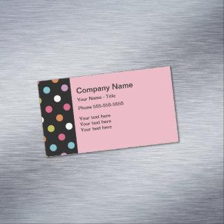 Cartão De Visitas Magnético Design moderno na moda