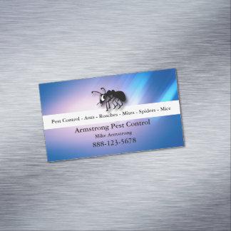 Cartão De Visitas Magnético Formiga do Exterminator do controlo de pragas