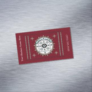 Cartão De Visitas Magnético Ímã do cartão de visita do equilíbrio