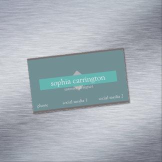 Cartão De Visitas Magnético Modelo de cartão de negócios 412