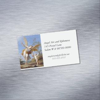 Cartão De Visitas Magnético Pelo anjo e pela criança do litoral
